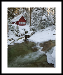 Welcome (RU4SUN2) Tags: winter snow ice snowshoe frozen washington cabin woods dennycreek hikes snoqualmiepass