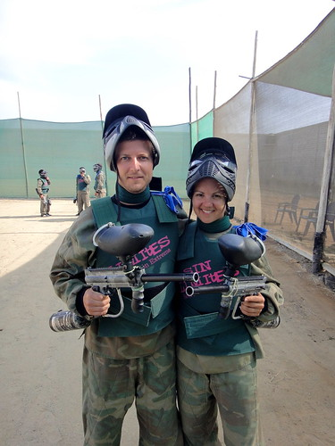 Paintball in Huanchaco