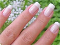 Unha da semana - francesinha (Mhilka ♥) Tags: nail nailart unha esmalte francesinha decorada