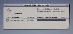 Apple Macintosh IIc - About This Macintosh