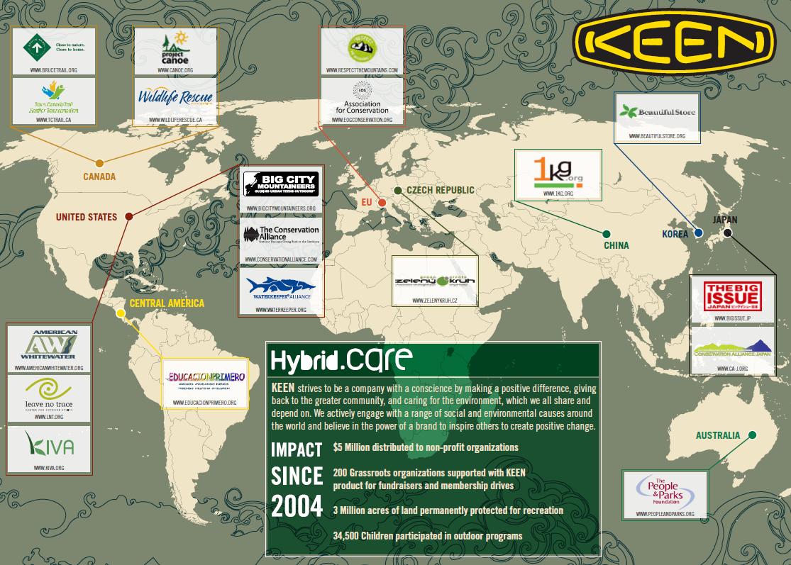 2010 HybridCare Map