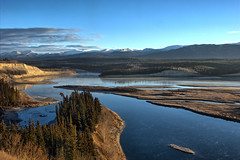 McIntyre Creek and the Yukon River at Whitehorse