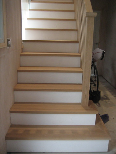 treated stairs