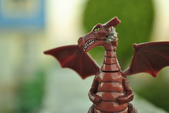 Dragon profile (Marco A. Leyva) Tags: toy dragon shrek juguete