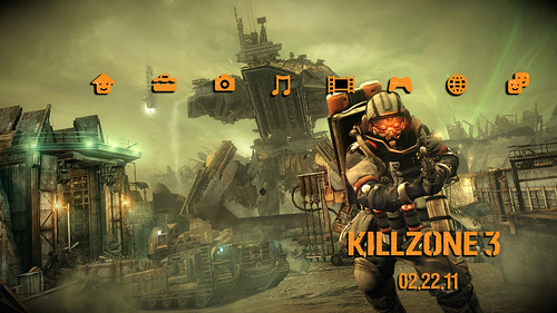 Killzone 3 PS3 theme