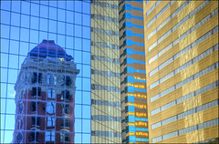 Fifth Third Reflections (Mark L Edwards) Tags: architecture reflections lexington kentucky bank third fifth thebigbluebuilding