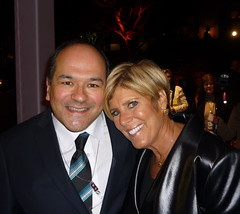 Greg Hernandez and Suze Orman at 2011 TCA