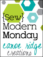 {Sew} Modern Monday button