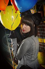 Bundle of Fun (mgm photography.) Tags: lighting hair balloons nc charlotte makeup jordan bow americanapparel westcott redshoes sephora 704 forever21 plazamidwood stobe clarksantiques skeeballmachine katvondlipstick
