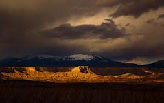 Etched in Gold by Michael Anderson (AndersonImages) Tags: storm utah canyonlands redrock escalante grandstaircase michaelanderson strikeoverlook