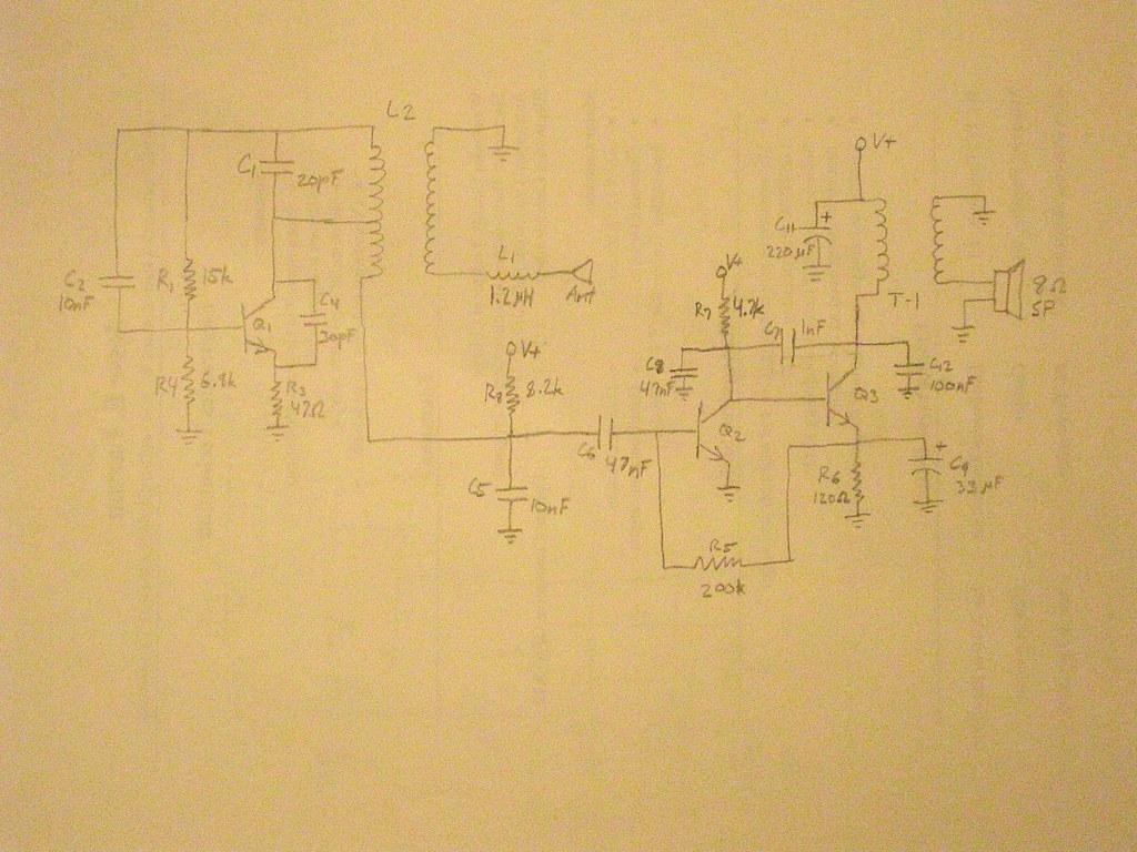 Reverse Engineering A Walkie Talkie Sparkfun Electronics Circuit Diagram Of Receiving By East India Tea On Flickr
