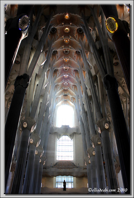 7 interior Sagrada Familia