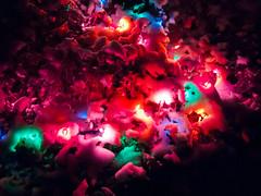 Lights in the Snow (RW Sinclair) Tags: christmas snow digital pen lights olympus ep2