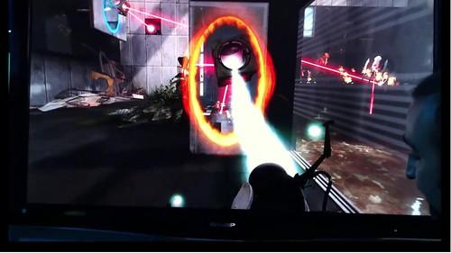 Portal 2: išskirtinai tik su Razer Hydra (Sixense)