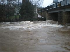 Hochwasser der Prm in Oberweis (LOMO56) Tags: hochwasser oberweis schneeschmelze prm
