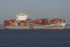 OOCL NAGOYA (John Ambler) Tags: water sign docks call vessel container solent nagoya southampton imo oocl mmsi ooclnagoya vrfx8 477627900 9445538