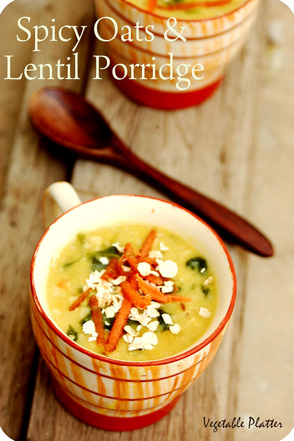 Oats & Lentil Porridge