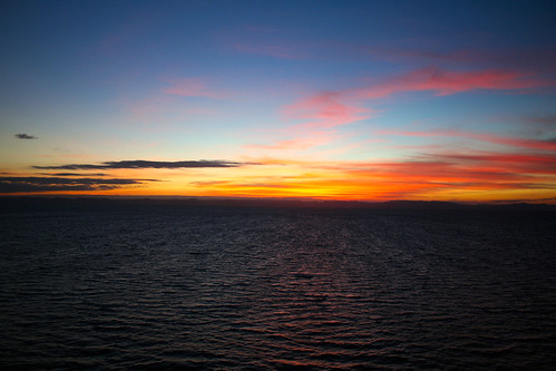 Sunset After La Paz