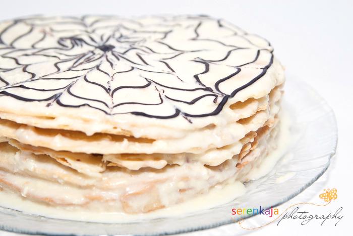 Торт Зимнее кружево