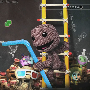 7-Eleven: LittleBigPlanet 2 PS3 Dynamic Theme