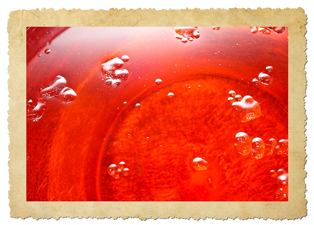 red oil/water
