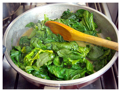 Lasaña à la Narkito - Espinaca con todos sus nutrientes