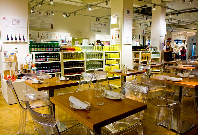 Eataly, Mario Batali's Italian restaurant and grocery center