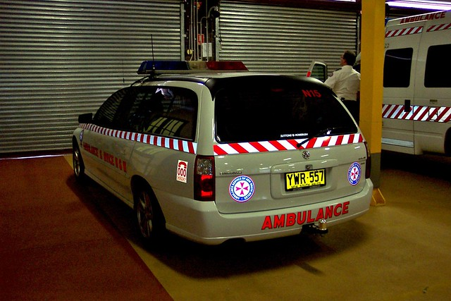 2003 Holden VY Series II Commodore Acclaim station wagon