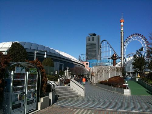 東京ドームなう。