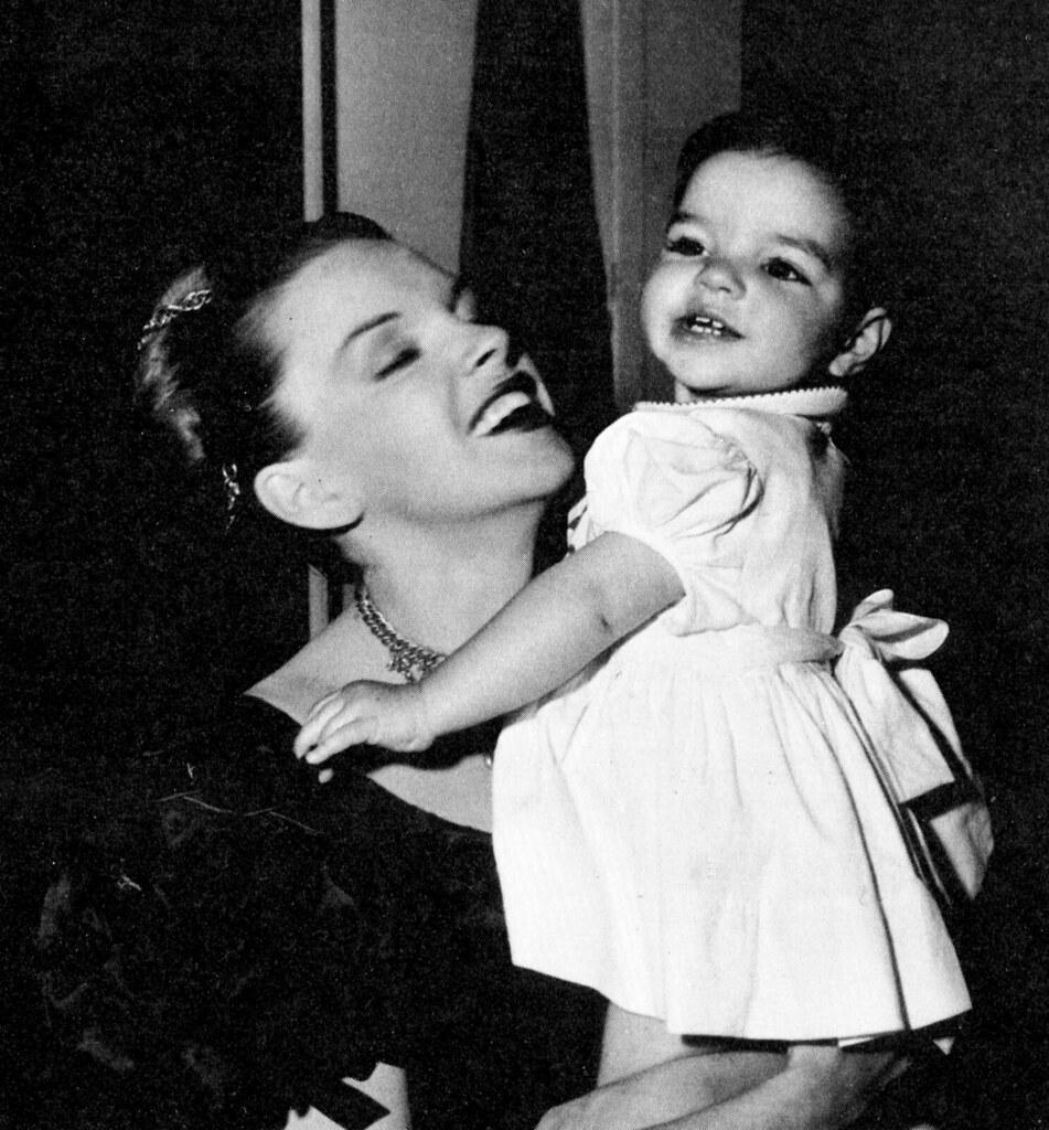 classic film scans: judy garland and liza minnelli