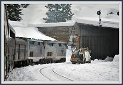 Donner Pass Snow shed.. (Loco Steve) Tags: railroad travel train december trains amtrak jpg jpeg 2010 californiazephyr