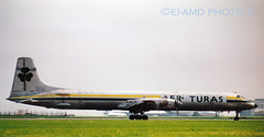 EI-BRP (EI-AMD Aviation Photography) Tags: old ireland dublin airport photos aviation scanned aer canadair turas eidw cl44 eibrp eiamd