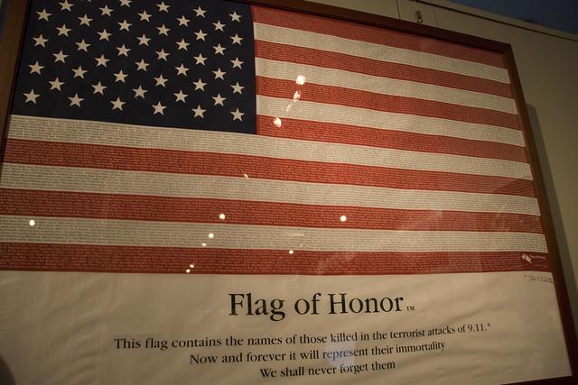 d7 911 flag
