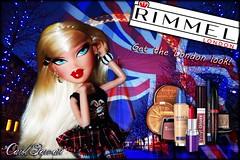 Runway Modelz , Rimmel London Ad - Marielle (Carol Parvati ) Tags: doll picnik bratz cloe marielle icandy candyz carolparvati runwaymodelz