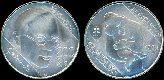 200 koruna Slovensko 1995, Mikuláš Galanda
