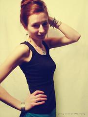 216) (jenny-alice) Tags: portrait woman selfportrait girl self retro bracelets 365 bangles 216 day216 365days 365june2010
