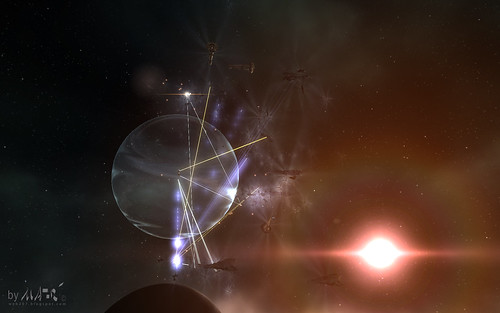 EVE Huge Battle picture