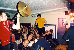 Trail Of Dead (Sumlin) Tags: camera music rock analog scans zoom super olympus indie gigs shows analogue 1990s alternative 2000s az300