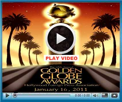 Watch 2011 Golden Globe Awards Live Stream Online on January 16,