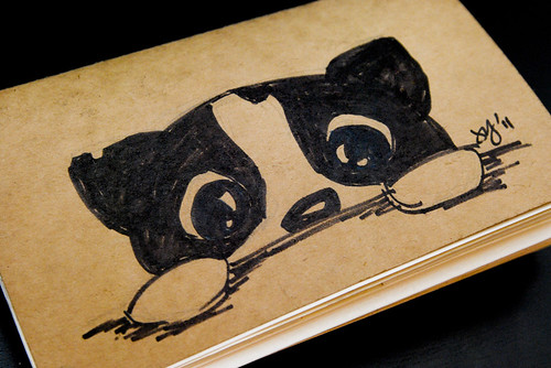 Sketchbook Project 2011: Cover