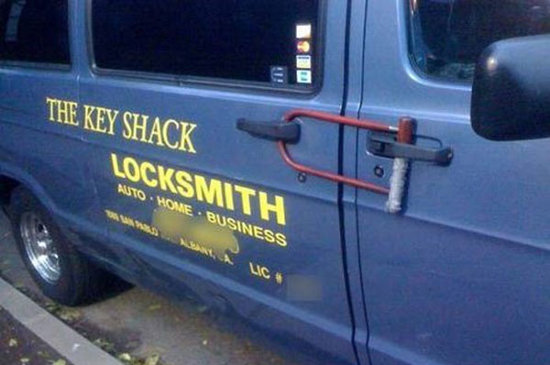 Locksmith Fail