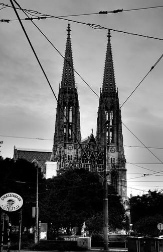 Votiva church. Vienna. Iglesia Votiva. Viena