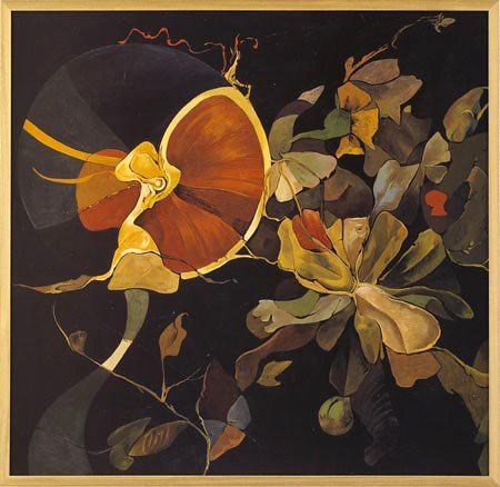 Seligmann, Kurt (1900-1962) - 1954c. Exotic Garden (Art Institute of Chicago, U.S.A.)