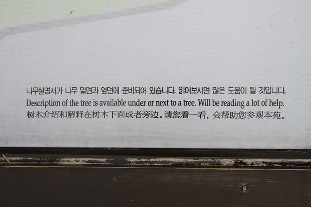 Description of the tree