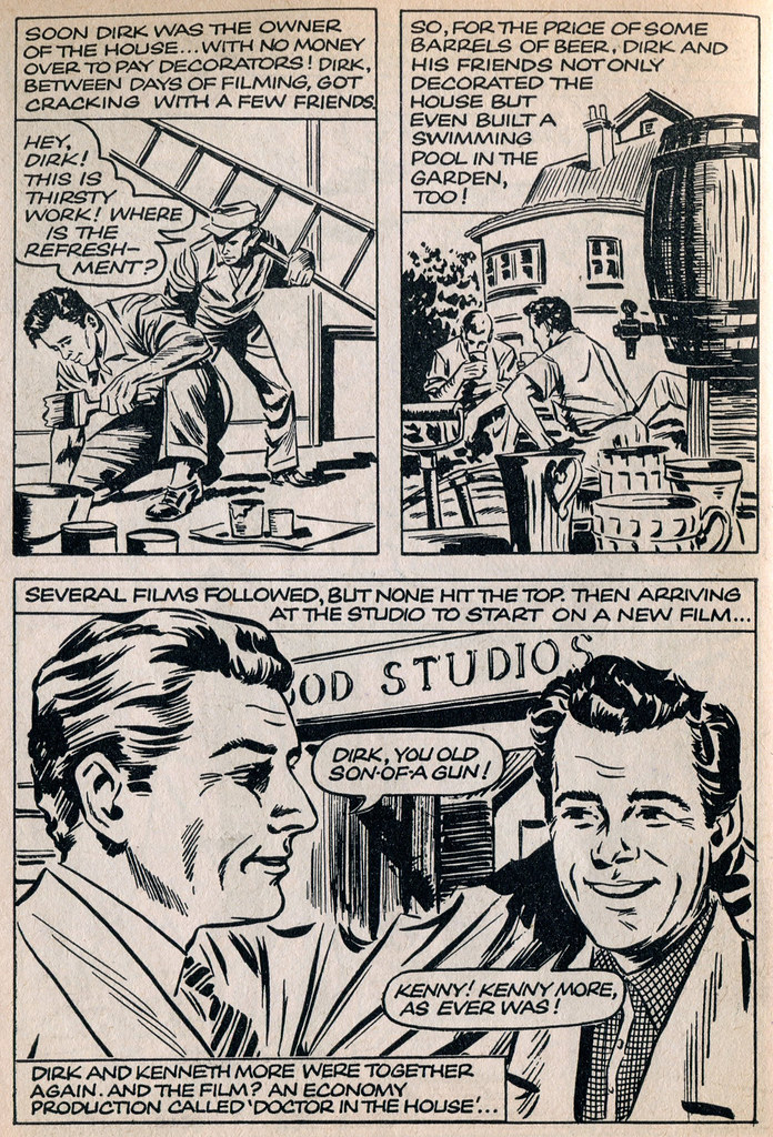 Dirk Bogarde comic 19