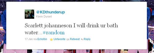 Kevin Durant's Scarlett Johansson tweet