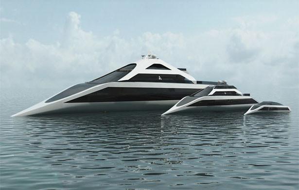 Tàu thủy có thể lặn và kiêm luôn… phi thuyền
