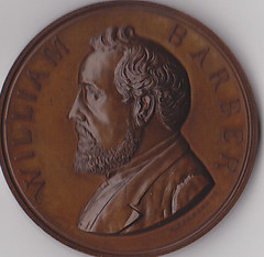 William Barber Mint Medal obverse