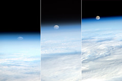 Moonrise (astro_paolo) Tags: nasa moonrise iss esa internationalspacestation earthfromspace europeanspaceagency expedition26 magisstra