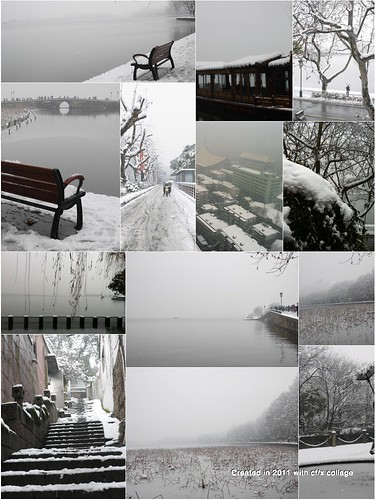 Snow in the West Lake